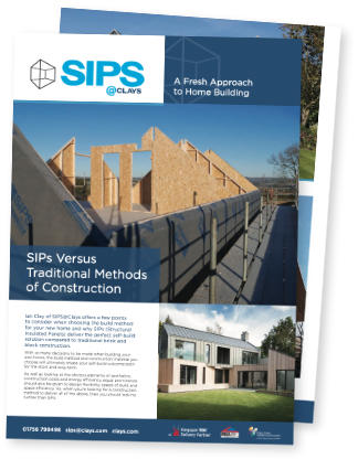 A thumbnail view of our SIPs Versus Traditional Methods of Construction PDF leaflet